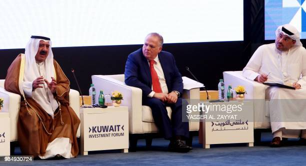 Kuwait's First Deputy Prime Minister and Minister of Defense Sheikh Nasser Sabah alAhmad alSabah Executive Vice President of Government Operations of...