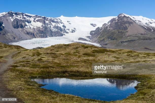 Kviarjokull glacier