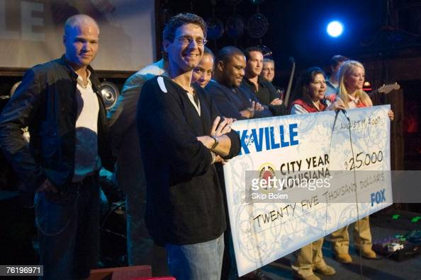 K-Ville's Executive Producer Jonathan Lisco along with the actors of