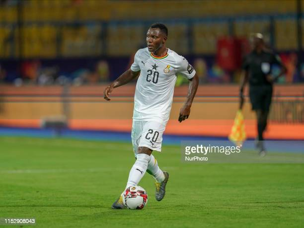 Kwadwo Asamoah of Ghana during the 2019 African Cup of Nations match between Benin and Guinea-Bissau at the Ismailia stadium in Ismailia, Egypt on...