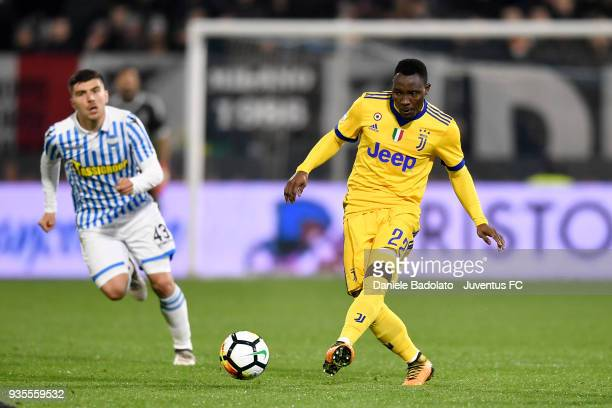 Kwadwo Asamoah of Juventus during the serie A match between Spal and Juventus at Stadio Paolo Mazza on March 17 2018 in Ferrara Italy