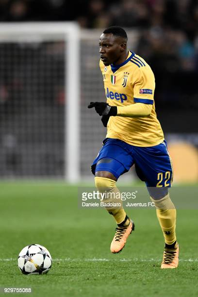 Kwadwo Asamoah of Juventus during the UEFA Champions League Round of 16 Second Leg match between Tottenham Hotspur and Juventus at Wembley Stadium on...
