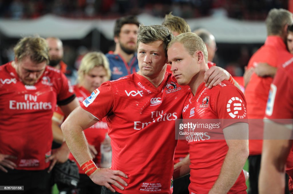 Super Rugby Final - Lions v Crusaders : News Photo
