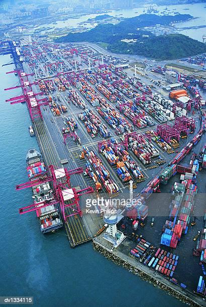 Kwai Chung Docks, Hong Kong