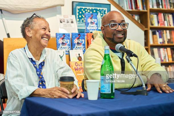 Kwame Alexander and Nikki Giovanni in Discussion For His New Book 'Swing'at Skylight Books on October 16 2018 in Los Angeles California