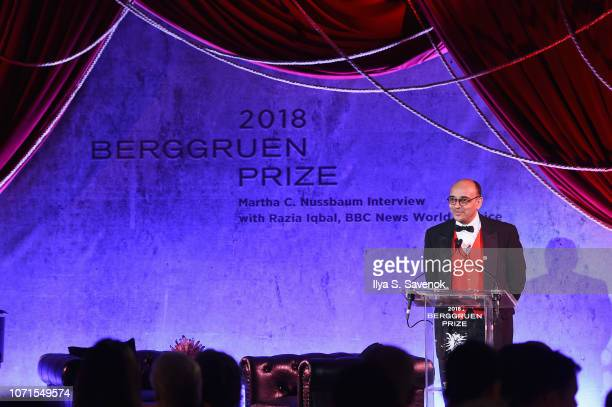 Kwame Anthony Appiah speaks at the Third Annual Berggruen Prize Gala at the New York Public Library on December 10 2018 in New York City