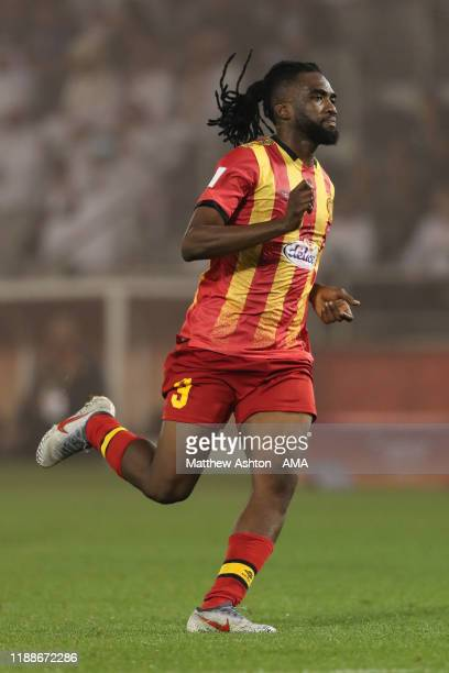 Kwame Bonsu of Esperance Sportive de Tunis during the FIFA Club World Cup 2nd round match between Al Hilal and Esperance Sportive de Tunis at Jassim...