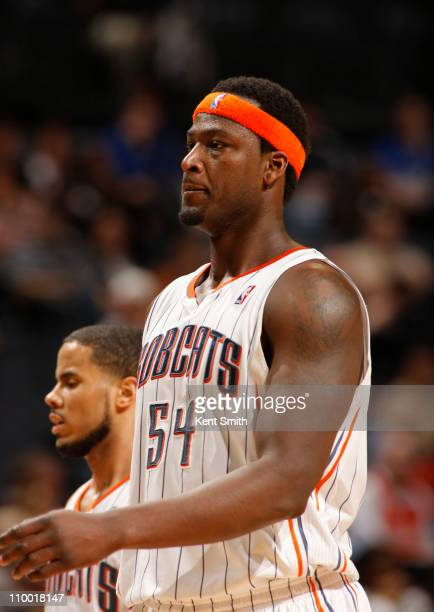 Kwame Brown of the Charlotte Bobcats on March 11 2011 at Time Warner Cable Arena in Charlotte North Carolina NOTE TO USER User expressly acknowledges...