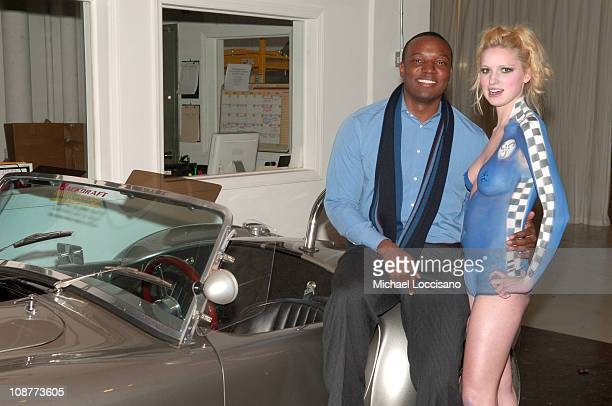 Kwame Jackson and Classic Car Club Model during 255 Hudson and Classic Car Club Cocktail Party February 28 2006 at 255 Hudson and Classic Car Club...