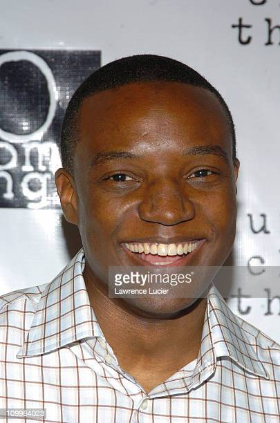 Kwame Jackson during Ashanti Appears at the 2004 Do Something Brick Awards at Metropolitan Pavilion in New York City New York United States