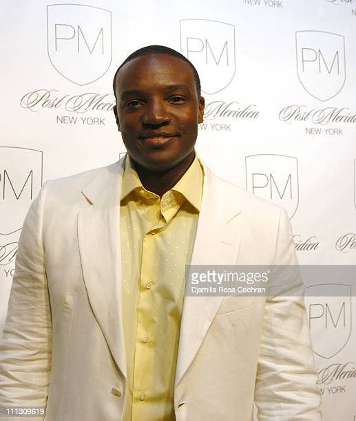 Kwame Jackson during Lionel Richie's 56th Birthday Party at PM in New York City New York United States