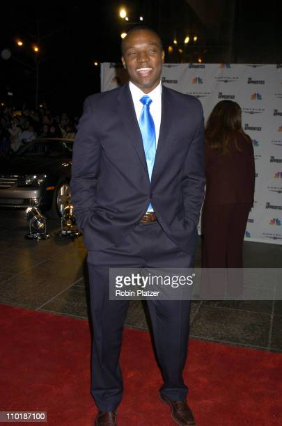 Kwame Jackson during The Apprentice Finale Party at Trump Tower in New York City New York United States