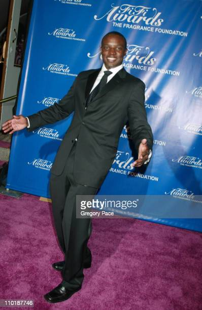 Kwame Jackson during The Fragrance Foundation's 32nd Annual Fifi Awards Arrivals at Hammerstein Ballroom in New York City New York United States