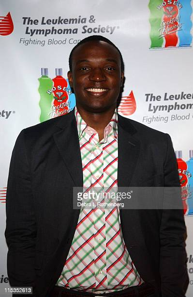 Kwame Jackson during Third Annual Leukemia and Lymphoma Society Spring Fling The Bachelor Bachelorette Auction Benefit at Plaid in New York City New...