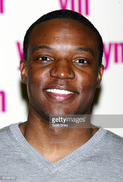 Kwame Jackson from the television show The Apprentice arrives at the 5th Annual YM MTV Issue party at Spirit March 24 2004 in New York City