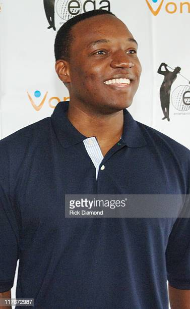 Kwame Jackson of The Apprentice during Entertainment Golf Association's 4th Annual Celebrity Golf Tournament Presented by Vonage at Minisceongo Golf...
