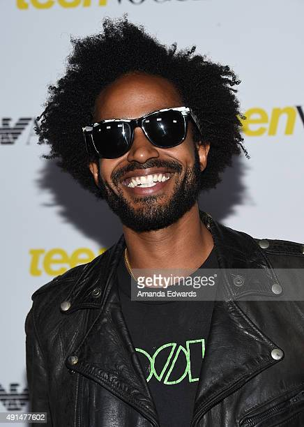 Kwame Morris arrives at Teen Vogue's 13th Annual Young Hollywood Issue Launch Party on October 2 2015 in Los Angeles California