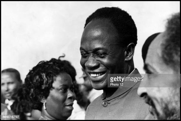 Kwame Nkrumah 1909 1972 leader of Ghana and its predecessor state the Gold Coast from 1951 to 1966