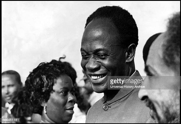 Kwame Nkrumah the leader of Ghana and its predecessor state the Gold Coast from 1951 to 1966