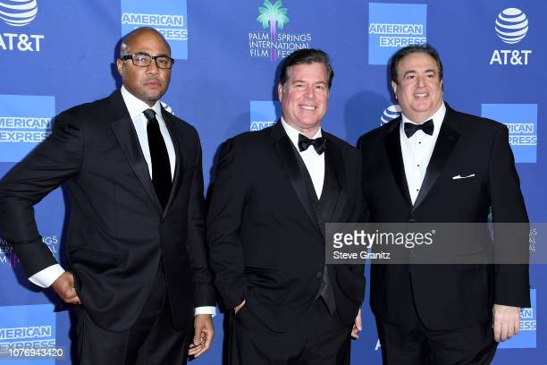 Kwame Parker Brian Currie and Nick Vallelonga attend the 30th Annual Palm Springs International Film Festival Film Awards Gala at Palm Springs...