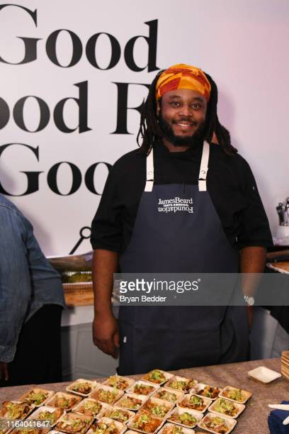 Kwame Williams attends as The James Beard Foundation kicks off the 201920 Taste America presented by official banking and credit card partner Capital...