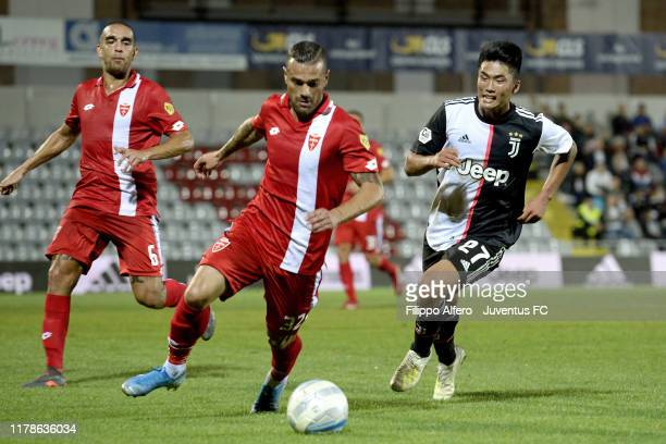 Kwang Han of Juventus Under 23 during the Serie C match between Juventus U23 and Monza at Stadio Giuseppe Moccagatta on September 30, 2019 in...