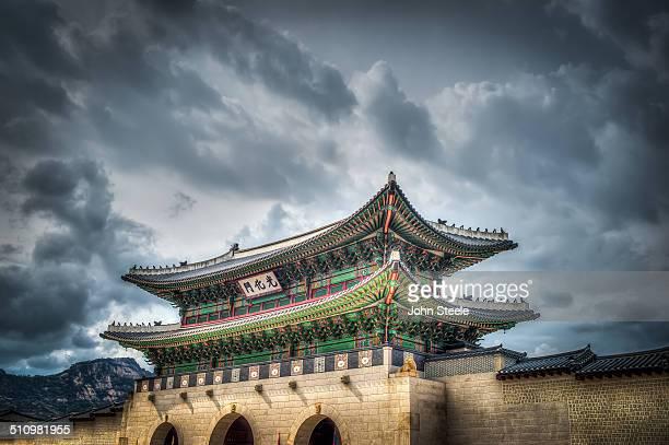 Kwanghwamun Seoul Korea The gate to Kyoungbok Palace