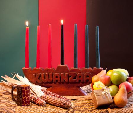 Kwanzaa - African American Holiday 153687575