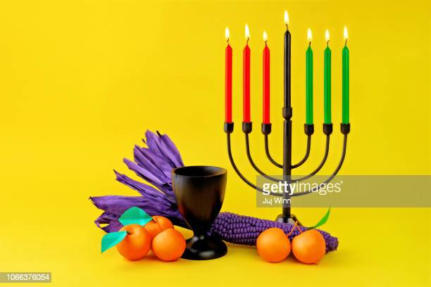 kwanzaa altar - kwanzaa stock pictures, royalty-free photos & images