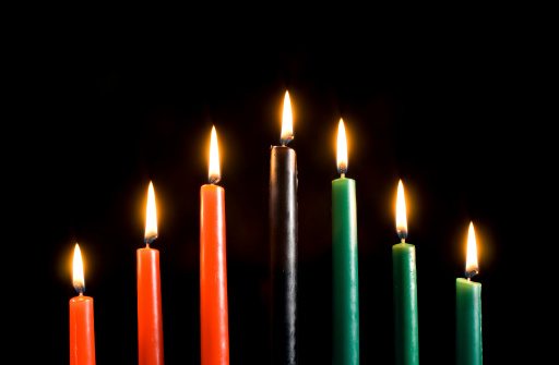 Kwanzaa Candles Only 182219734