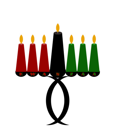Kwanzaa Kinara Candle Holder 462402691