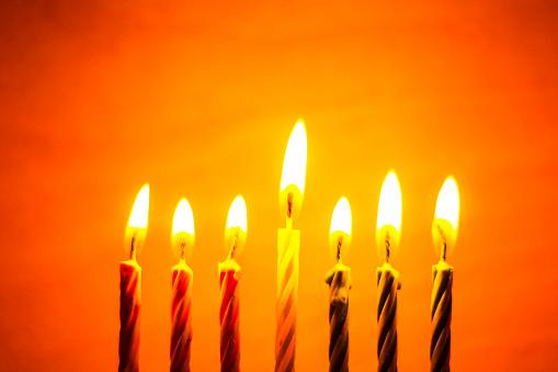 Kwanzaa seven candles 868515578