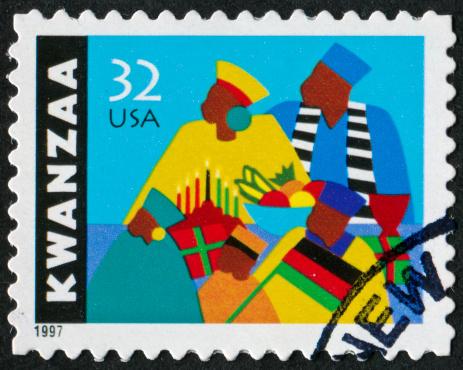 Kwanzaa Stamp 174994591
