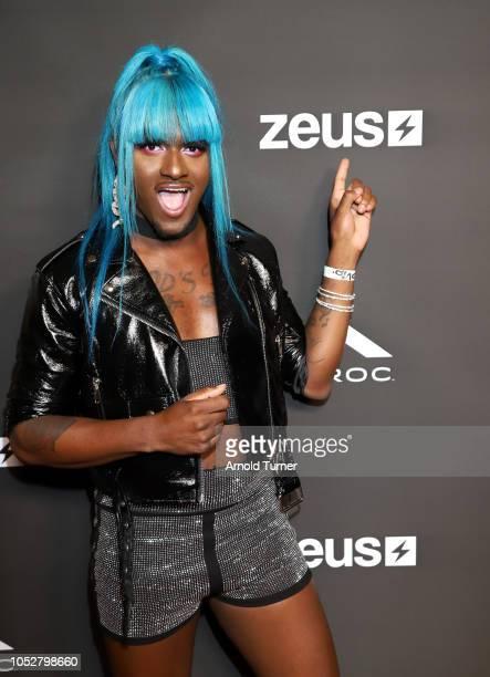 Kwaylon Rogers aka 'TiTi' attends the ZEUS New Series Premiere Party X CIROC Black Raspberry on October 19 2018 in Burbank California