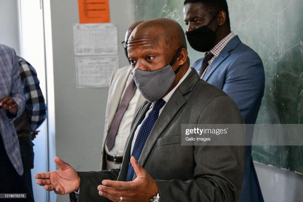 Kwazulu Natal Premier Sihle Zikalala Visits Ohlange High School To News Photo Getty Images