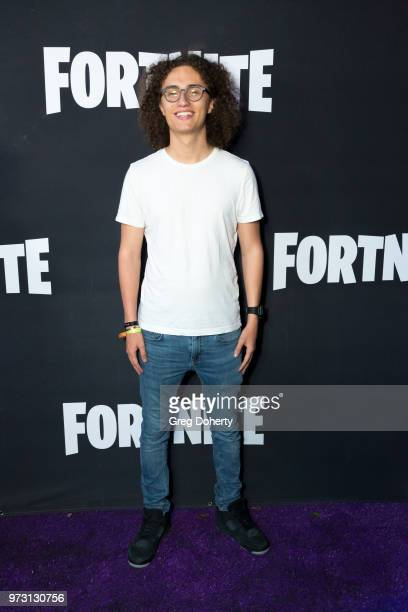 Kwebbelkop attends the Epic Games Hosts Fortnite Party Royale on June 12 2018 in Los Angeles California