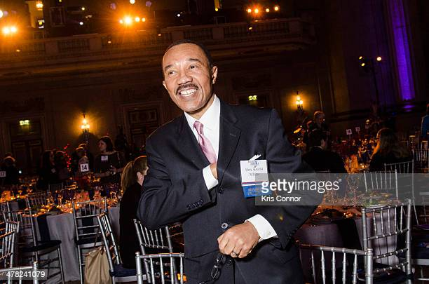 Kweisi Mfume attends ResearchAmerica's 2014 Advocacy Awards Dinner at Andrew W Mellon Auditorium on March 12 2014 in Washington DC