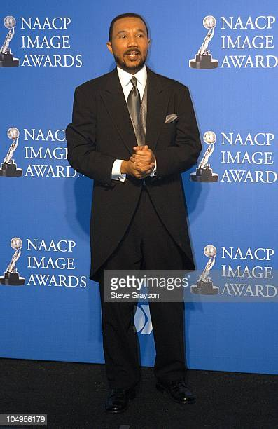 Kweisi Mfume during 34th NAACP Image Awards Press Room at Universal Amphitheatre in Universal City California United States