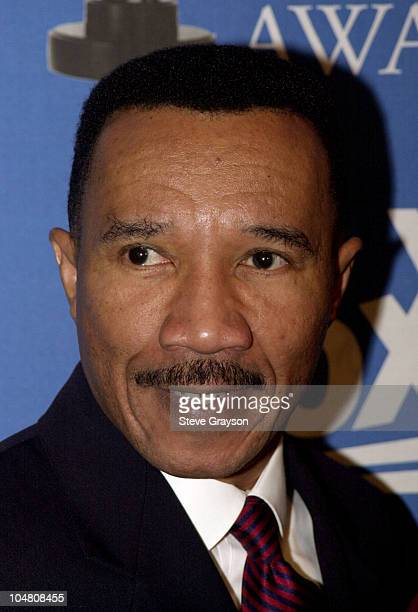 Kweisi Mfume President and CEO of the NAACP poses for photographers at the nominations annoucements for the 33rd NAACP Image Awards at the House of...