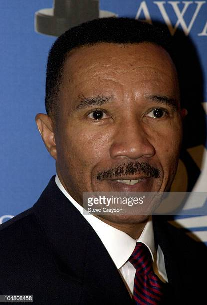Kweisi Mfume President and CEO of the NAACP poses for photographers at nominations announcements for the 33rd NAACP Image Awards at the House of...