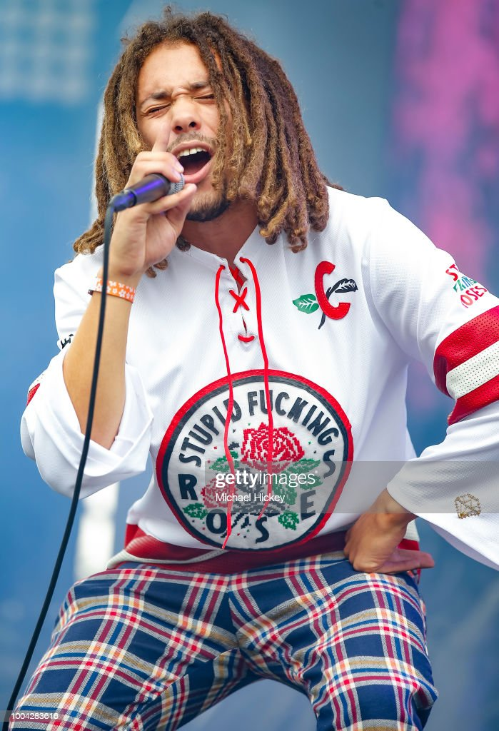 Kweku Collins performs during the Pitchfork Music Festival at Union Park on July 22, 2018 in Chicago, Illinois.