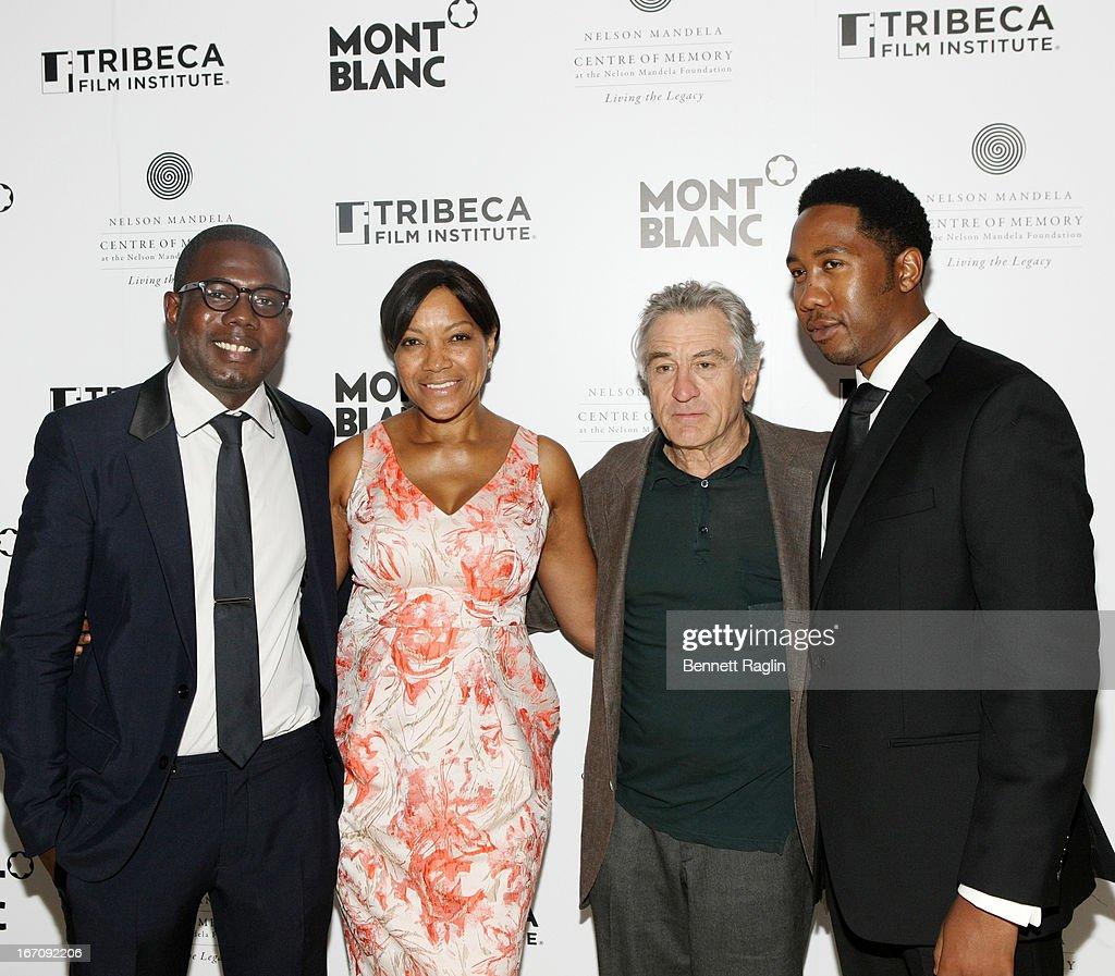 "2013 Tribeca Film Festival - ""Power Of Words: Nelson Mandela"" - Party"