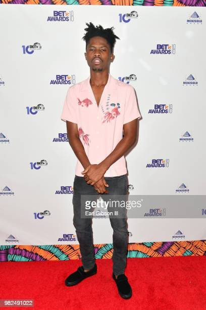 Kwesi Arthur attends the BETX International Nominee Party during the 2018 BET Experience at Hotel Indigo Los Angeles Downtown on June 23 2018 in Los...