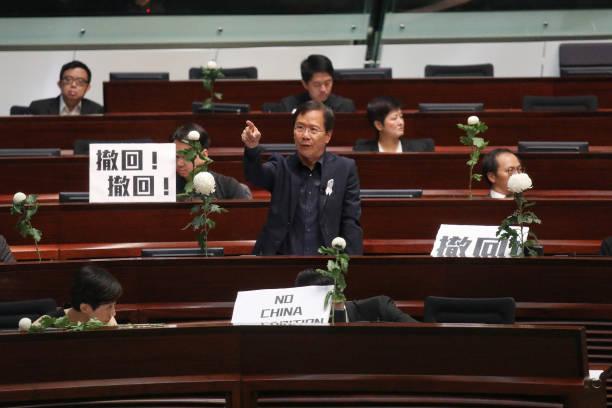 HKG: Hong Kong's Legislature Resumes Regular Meetings Following Mass Protests