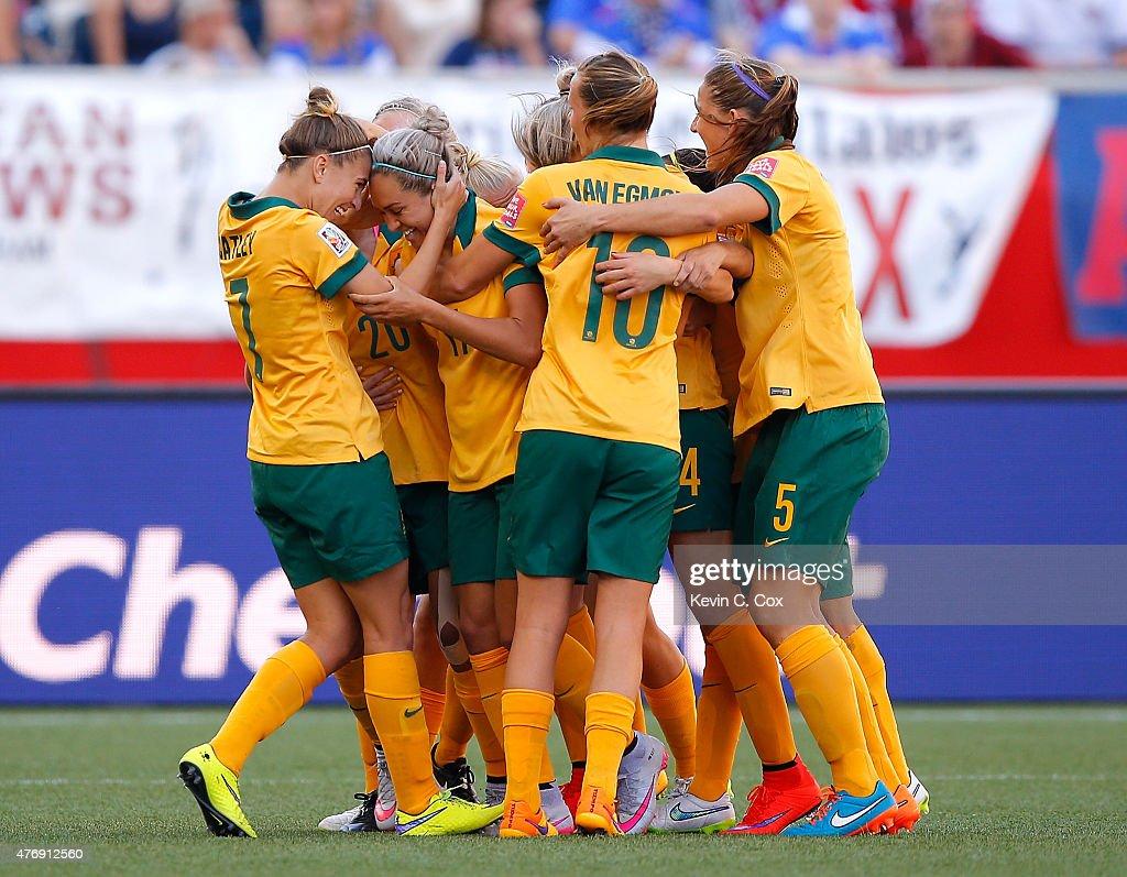 Australia v Nigeria: Group D - FIFA Women's World Cup 2015 : News Photo