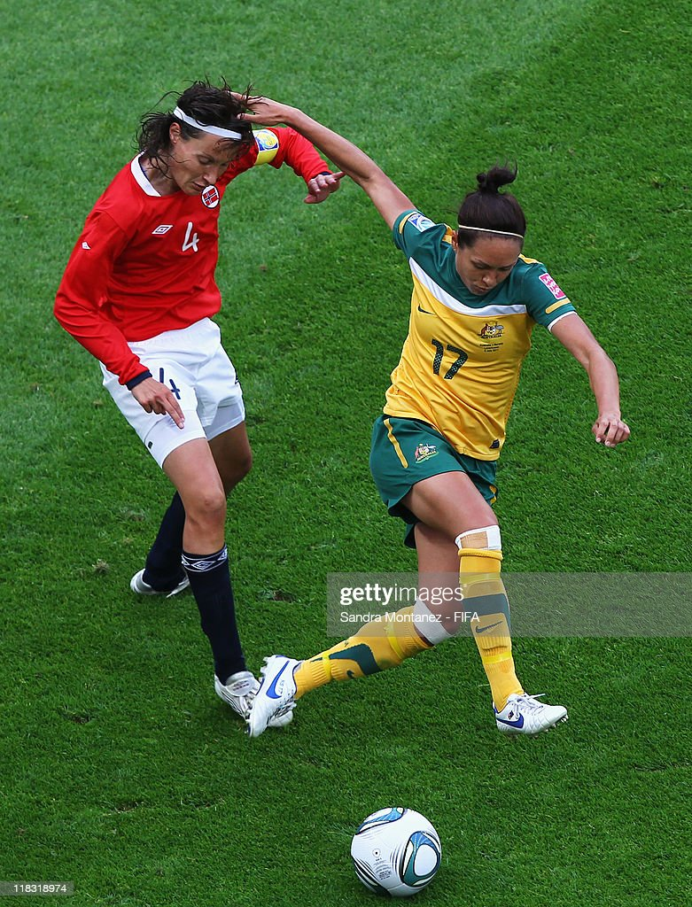 Australia v Norway: Group D - FIFA Women's World Cup 2011