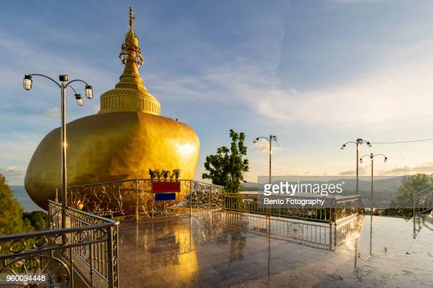 kyaikhtiyo pagoda model in phuket, thailand - ottoman empire photos stock pictures, royalty-free photos & images