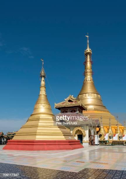 kyaikthanlan, mawlamyine - pagode stock-fotos und bilder