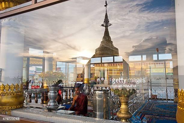 CONTENT] Kyaiktiyo also called the golden rock is a wellknown Buddhist pilgrimage site in Mon State Myanmar