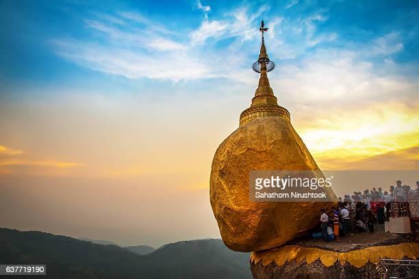 kyaiktiyo pagoda (myanmar) - myanmar stock pictures, royalty-free photos & images